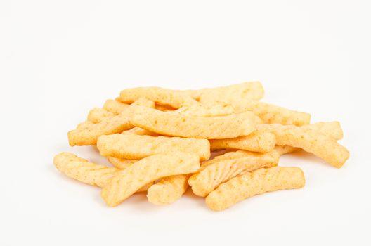 crunchy prawn crackers.