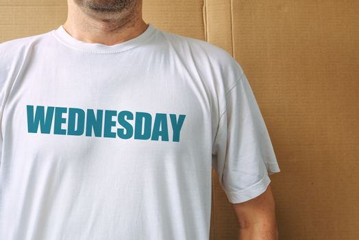 Days of the week - wednesday