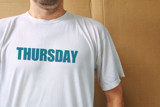 Days of the week - thursday