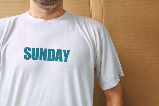 Days of the week - sunday