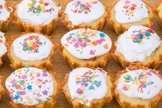 Homemade homemade easter cupcakes