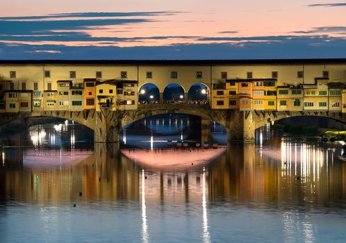 Florence in evening