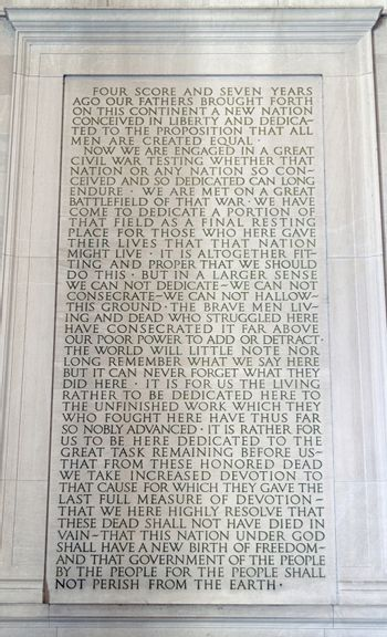 Lincoln Stone Tablet