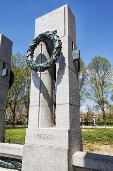 WWII Texas Pillar