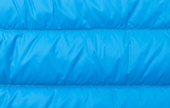 Blue background made of warm textile