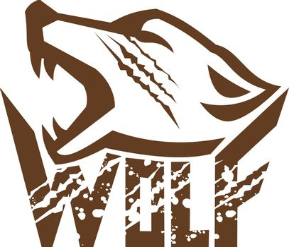 Wolf Howling Retro