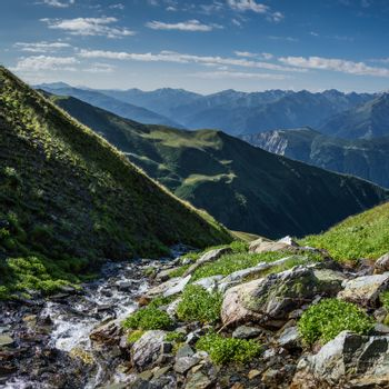 Small stream in mountaine