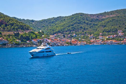 Island of Vis yachting destination view
