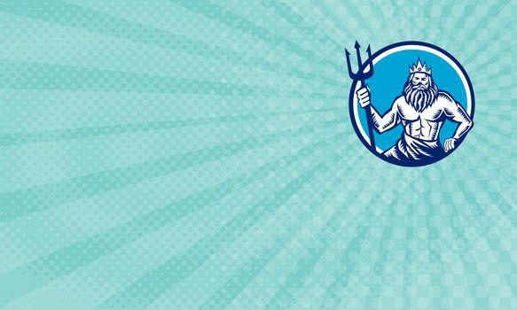 Poseidon Sea Freight Business Card
