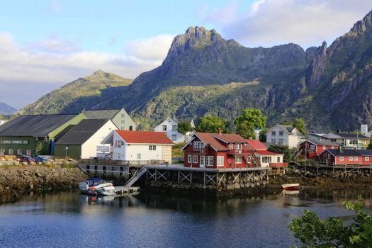 Fra en tur til Svolvær i flott sommervær