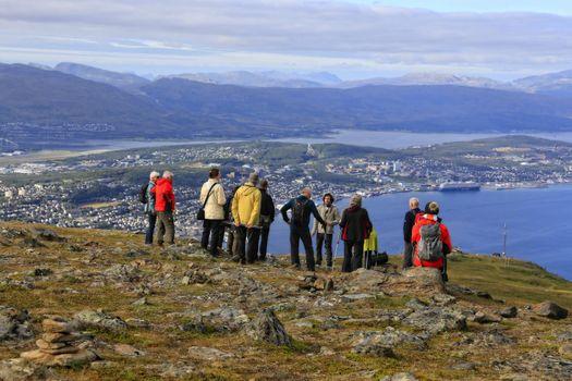 Tromsø - Fjellheisen og Fløya