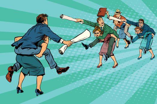 Business battle gender inequality
