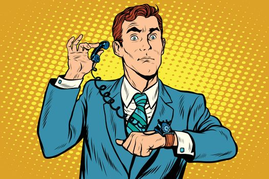 Gadget wrist watch phone