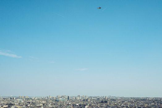 City Centre Top view - Paris France city walks travel shoot