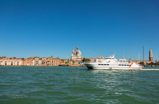 view of San Giorgio island