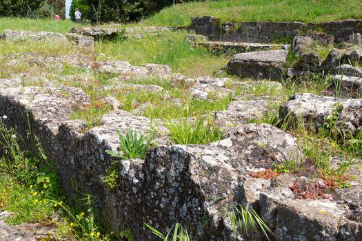 Etruscan remains in Volterra