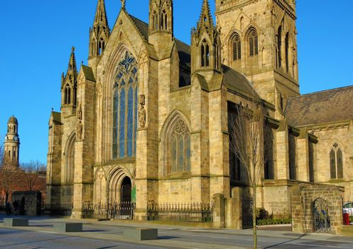 Salford Cathedral.