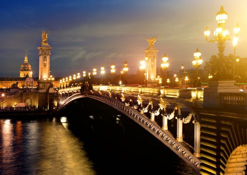 Alexandre 3 Bridge, Paris