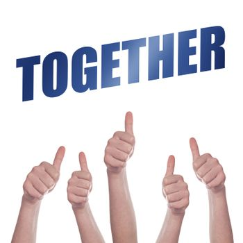 Thumbs up for Together concept