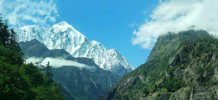 nepal pano mountains nepal pano mountains nepal pano mountains