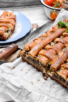 fragrant meat pie