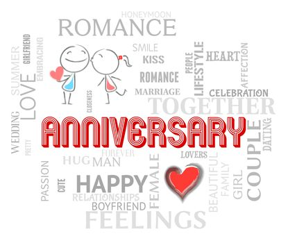 Anniversary Words Meaning Loving Affection And Romance