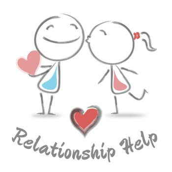 Relationship Help Meaning Love And Romance Assistance