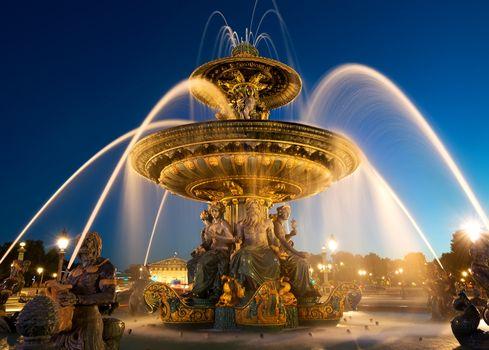 Fountain des Mers