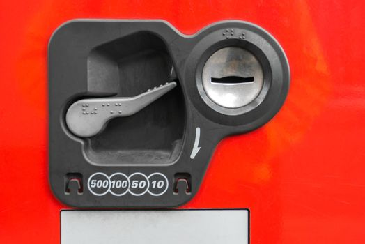 vending Machine Coin insert