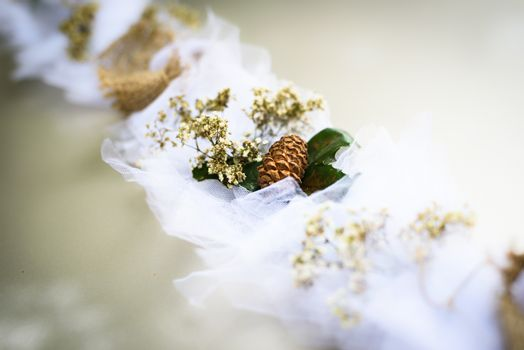 just married decoration