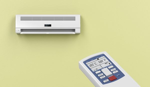 Remote controlled air conditioner