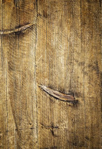 brushed worn out wooden board