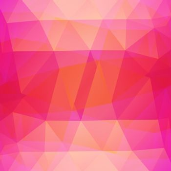 beautiful color, abstract polygonal background.