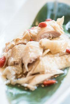 liquor hainanese chicken