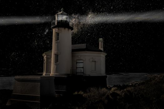 Lighthouse in the Darkness
