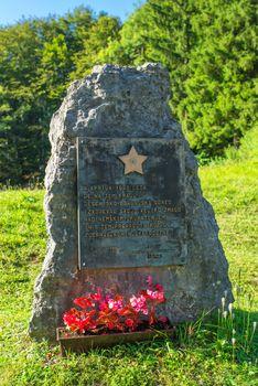 Monument to the Slovenian Partisans