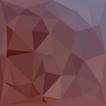 Indian Red Abstract Low Polygon Background