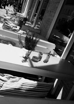 Summer Sidewalk Cafe