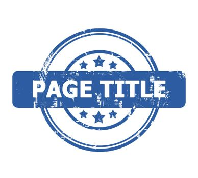 Page Title Stamp