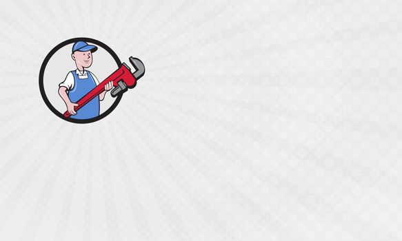 Red Pipe Plumbing Business Card