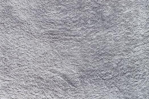 Gray towel texture