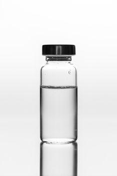 medicament in a glass vial