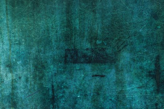 Oxidized copper plate surface texture