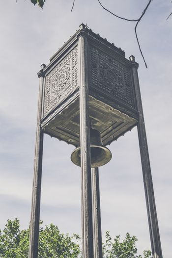 Church bell on a tower