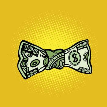 bowtie dollar money