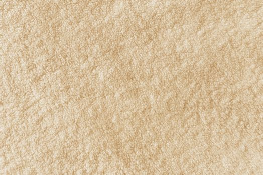 Close up texture of warm wool blanket