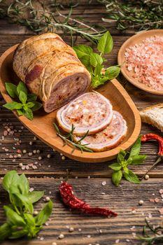 Roll of pork