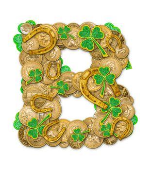 St. Patricks Day holiday letter B