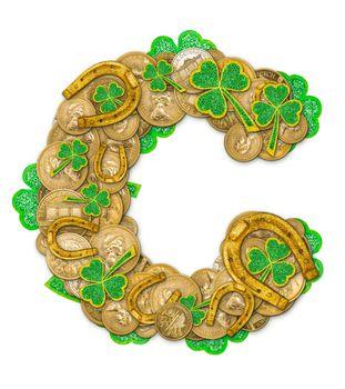 St. Patricks Day holiday letter C