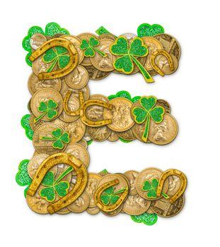St. Patricks Day holiday letter E